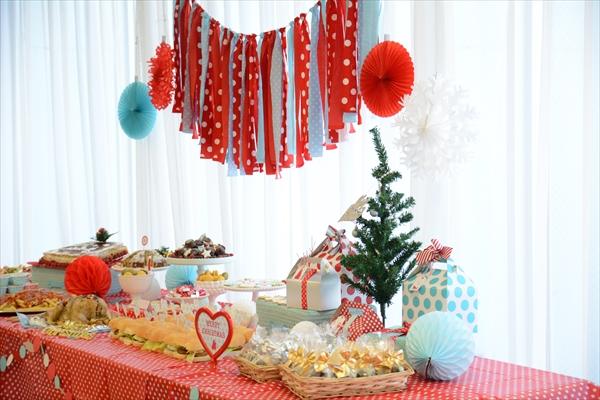 アクアカラーのクリスマスパーティー : Aqua Christmas Party