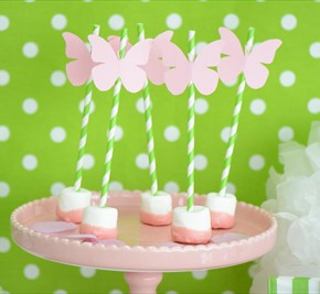 Pink Butterfuly Party @ little lemonade