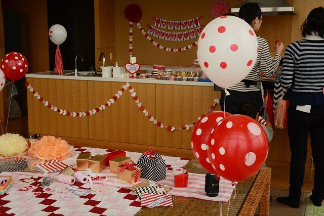 赤ちゃんとバレンタインパーティー8
