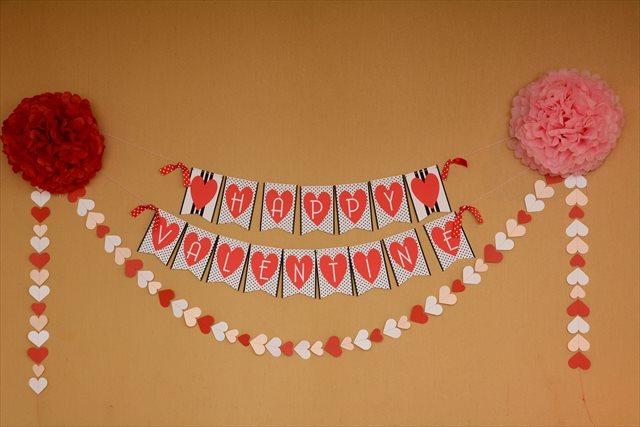赤ちゃんとバレンタインパーティー5