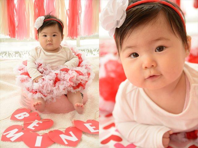 赤ちゃんとバレンタインパーティー2-2
