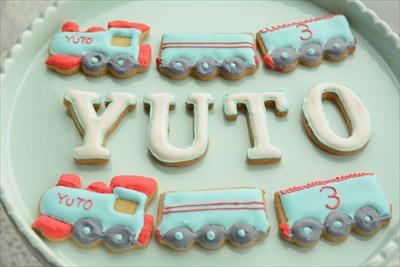 アイシングクッキー_機関車