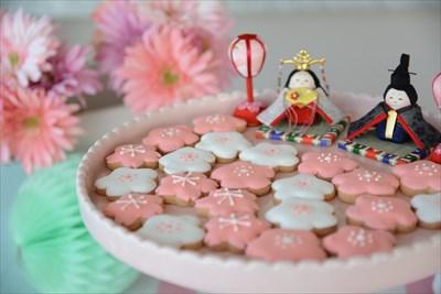 アイシングクッキー_ひなまつり