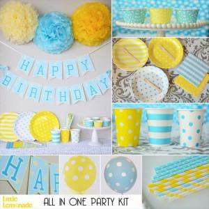 パーティーキット_blue+yellow