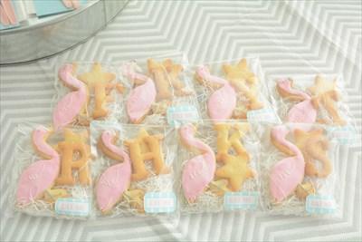 アイシングクッキー_フラミンゴ