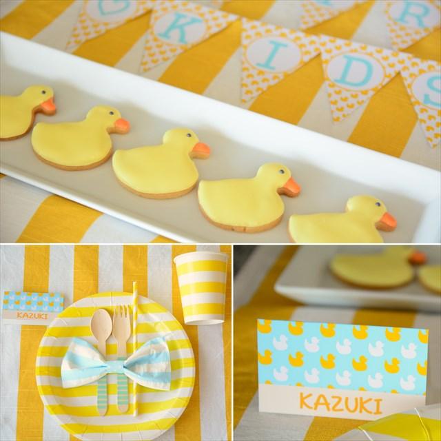 あひるパーティープランニング : Duck Themed Party Planning
