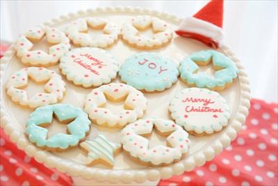 アイシングクッキー_クリスマス