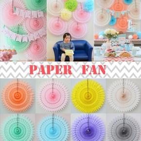 新商品入荷のご案内 ビッグペーパーファン : New party items Paper Fan in store now