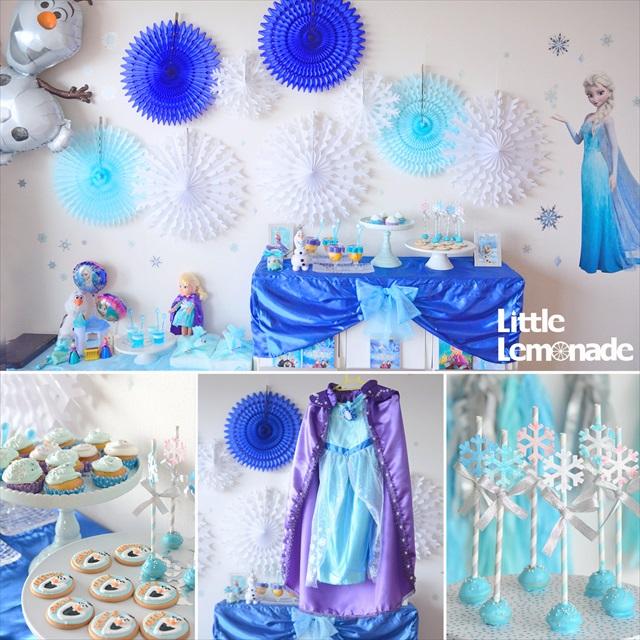 アナと雪の女王パーティー_リトルレモネード_2