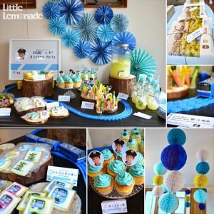 電車テーマのお誕生日会レポート : Train Themed 6th Birthday Party