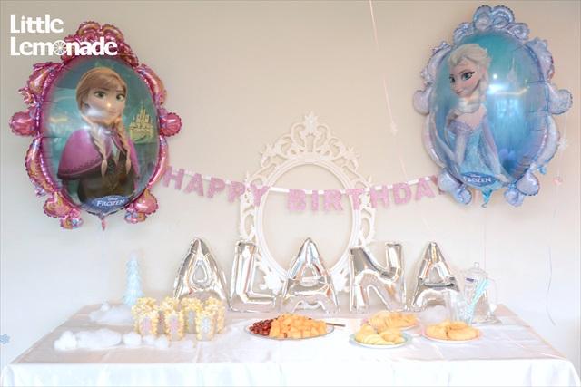 アナと雪の女王パーティー_7