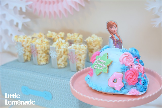 アナと雪の女王パーティー_3