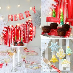 2014 クリスマス パーティーコーディネート : 2014 Christmas Party Report  Red x Silver
