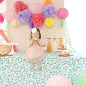 ガーデンティーパーティー テーマのお誕生日会 : Garden Tea Party Themed Birthday Party