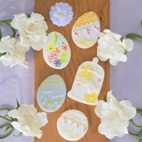 イースターアイシングクッキーレッスン : 江東区豊洲&東雲    Easter Icing Lesson