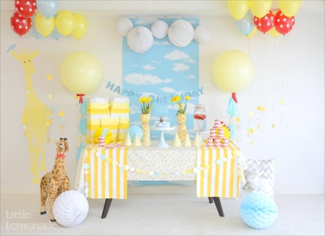 おさるのジョージテーマのバースデイパーティー : Curious George Themed Party 2