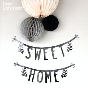 DIY アイディア : 【A Lovely Little Company】アルファベット レターバナー