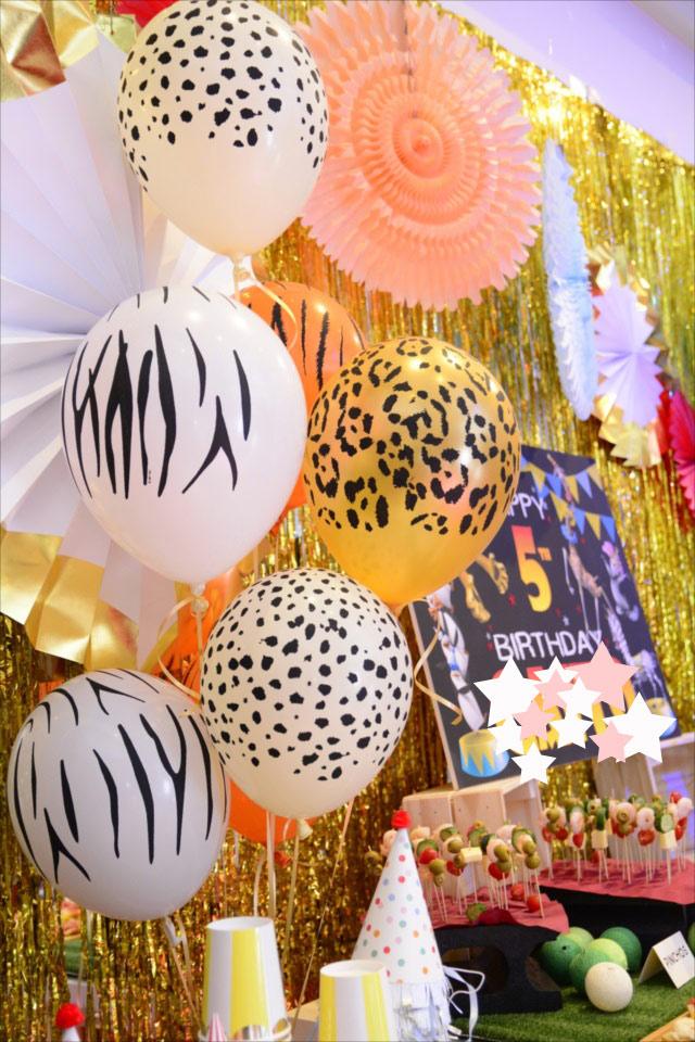 マダガスカルテーマのお誕生日会 : MADAGASCAR Themed Birthday Party