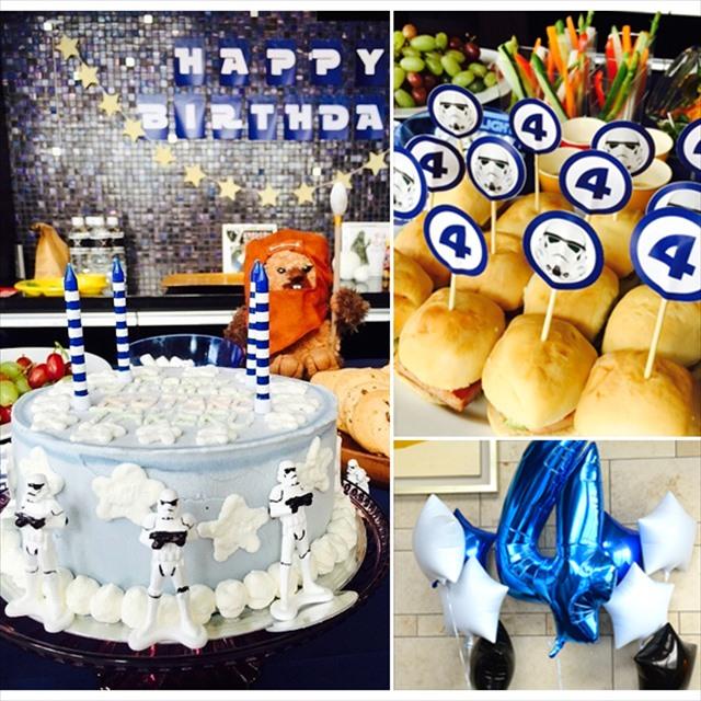 スターウォーズテーマのお誕生日会 : STAR WARS Themed Birthday Party