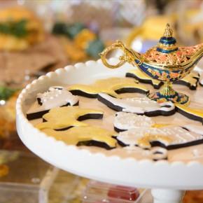 Aladdin Themed Birthday Party :  アラジンテーマのバースデイパーティー
