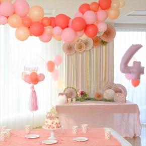 Princess Birthday Party : プリンセステーマのバースデイパーティー
