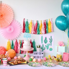 VIVA AMIGOS! Mexican Themed Birthday Party : メキシカンテーマのバースデイパーティー