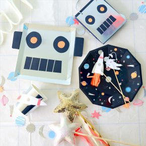 Galaxy&Robot Themed  Birthday Party : ギャラクシー&ロボットテーマバースデイパーティー