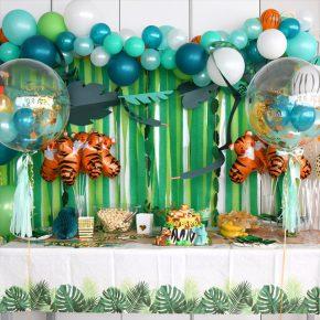 Safari Jungle Birthday Party - サファリジャングルテーマのバースデイ -