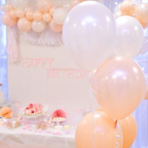 Crystal Themed 6th Birthday Party : クリスタルテーマのバースデイパーティー
