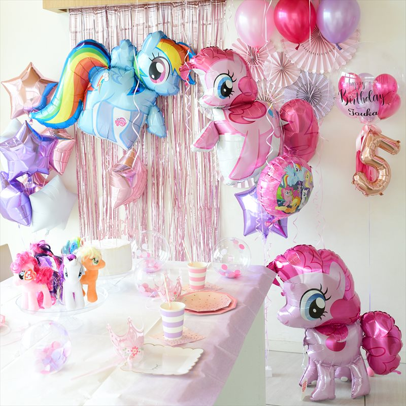My Little Pony 5th Birthday Party : マイリトルポニー テーマのバースデイパーティー