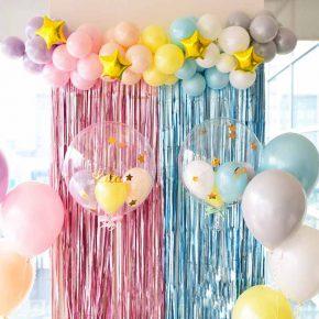 Rainbow Birthday party:パステルカラーのレインボーバースデーパーティー