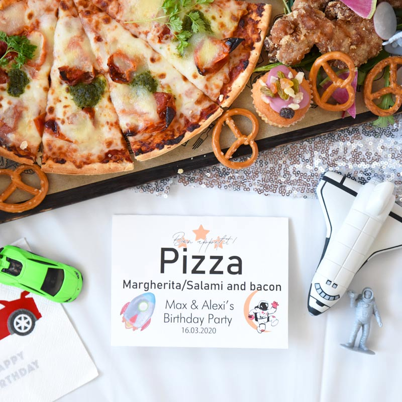 Space & Sport car Birthday Party:宇宙とスポーツカーのバースデイパーティー