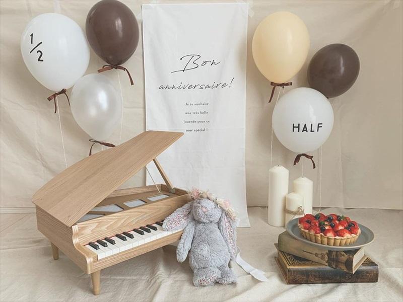 みんなのHalf Birthday:ハーフバースデイはなにする?お祝いアイデアのご紹介