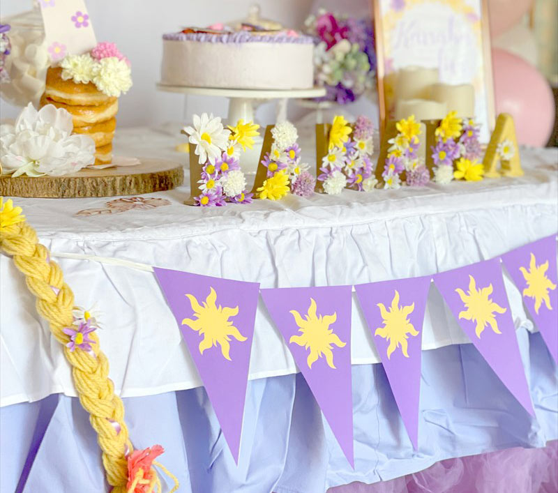 Tangled Themed Birthday : ラプンツェルテーマのバースデイ