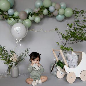 half birthday baby photo decoration ハーフバースデー