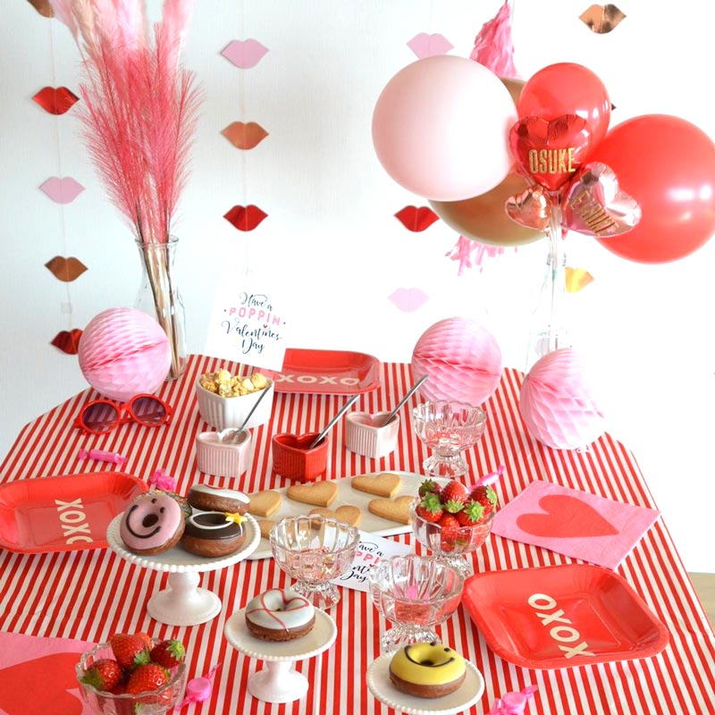 Weekend valentine party : 週末お家バレンタインパーティー