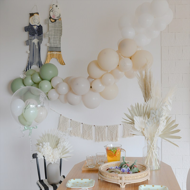 こどもの日 :マダムモー こいのぼり×バルーンで飾る端午の節句祝いデコレーション